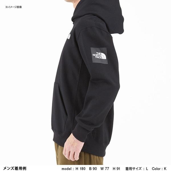 THE NORTH FACE(ザ・ノースフェイス) SQUARE LOGO HOODIE(スクエア ロゴ フーディー) Men's NT61835 メンズセーター&トレーナー