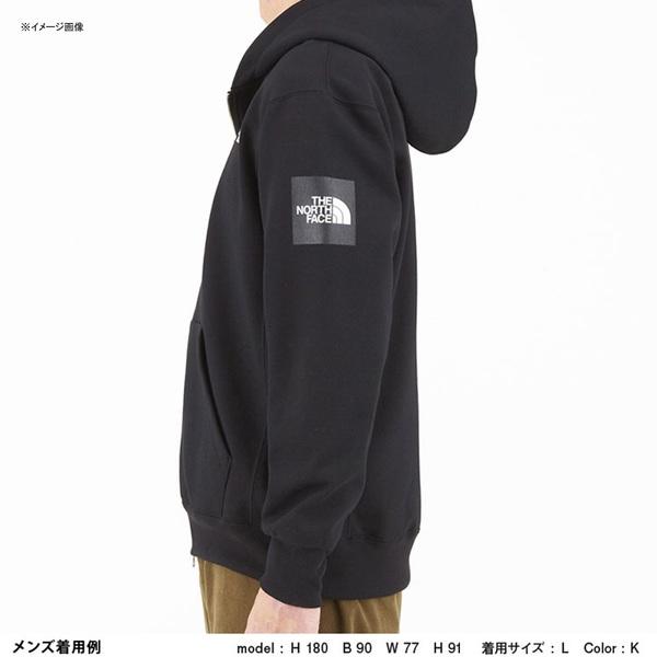 THE NORTH FACE(ザ・ノースフェイス) SQUARE LOGO FULLZIP(スクエア ロゴ フルジップ) Men's NT61836 メンズセーター&トレーナー