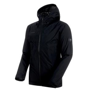 【送料無料】MAMMUT(マムート) Convey 3 in 1 HS Hooded Jacket Men's M black×black 1010-26470