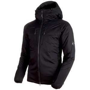 【送料無料】MAMMUT(マムート) Rime IN Flex Hooded Jacket AF Men's L black 1013-00750