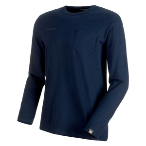 【送料無料】MAMMUT(マムート) Massone Longsleeve Men's S marine 1016-00051