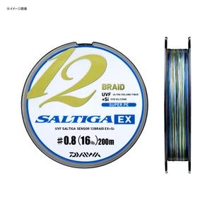 【送料無料】ダイワ(Daiwa) UVF ソルティガセンサー 12ブレイドEX+Si 200m 0.6号/13lb 07303181