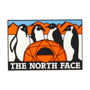 THE NORTH FACE(ザ・ノースフェイス) TNF PRINT STICKER AT NN31710