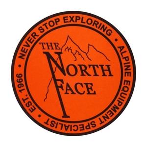 THE NORTH FACE(ザ・ノースフェイス) TNF PRINT STICKER OL NN31710