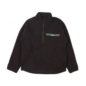 【送料無料】KAVU(カブー) Freece Throw shirts(フリース スロー シャツ) メンズ L Black 11863318020007