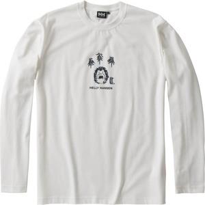 HELLY HANSEN(ヘリーハンセン) HE31870 L/S Hedgehog Tee(L/S ヘッジホッグ ティー) Men's HE31870 メンズ速乾性長袖Tシャツ