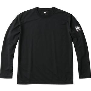 HELLY HANSEN(ヘリーハンセン) HH31853 L/S Team Dry Tee(ロングスリーブ チーム ドライティー) Men's XL K(ブラック)