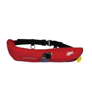 釣りビジョン 国土交通省承認 腰巻式ライフジャケット 桜マーク タイプA BSJ-5520RS FVS0035 インフレータブル(自動膨張)