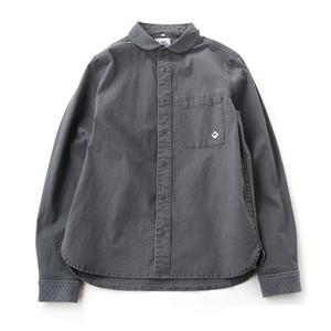 gym master(ジムマスター) ストレッチ ヘリンボーン スナップ シャツ ジャケット G843339 メンズ長袖シャツ