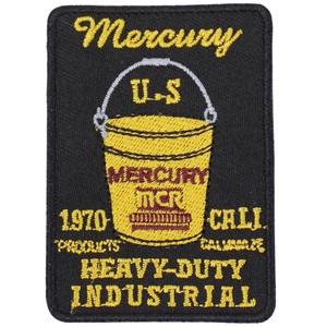 MERCURY(マーキュリー) ワッペン バケツ MEWABUBK