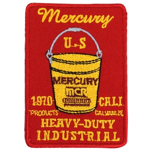MERCURY(マーキュリー) ワッペン バケツ MEWABURD