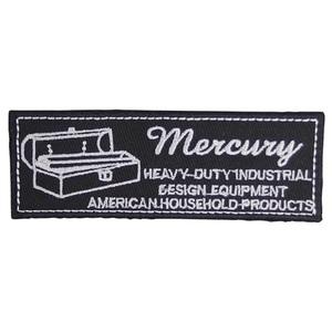 MERCURY(マーキュリー) ワッペン ツールボックス MEWATOBK