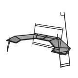 DOD(ディーオーディー) テキーラワンエイティ TB1-572-BK キャンプテーブル