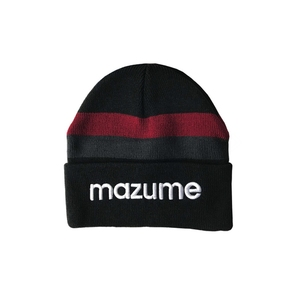 MAZUME(マズメ) mazume ニットキャップ MZCP-F385-01 防寒ニット&防寒アイテム