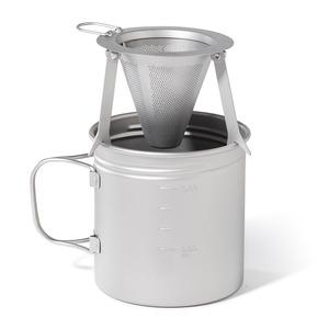 VARGO(バーゴ) チタニウムトラベル コーヒーフィルター T-474