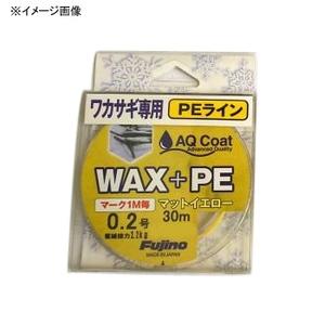 フジノナイロン WAX+PE マーキング 60m W-27 ワカサギ用ライン