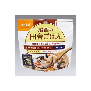 尾西食品 アルファ米(1食分) 田舎ごはん ご飯加工品・お粥