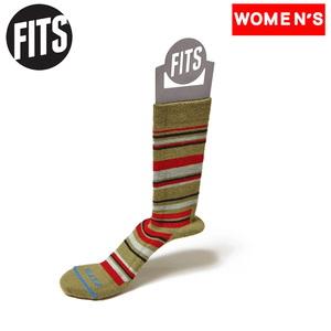 FITS(フィッツ) ミディアムハイカークルー F1015 インナーソックス