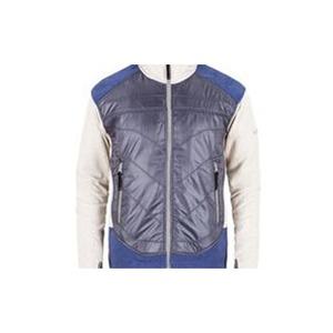 【送料無料】milo(ミロ) MILO-メンズ フリースジャケット TEVE L 014(グレーxブルー) MLAM0001