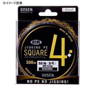 ゴーセン(GOSEN) JIGGING PE SQUARE4(ジギング PE スクエア4) 300m GL433031