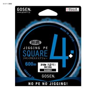 ゴーセン(GOSEN) JIGGING PE SQUARE4(ジギング PE スクエア4) 600m GL436021