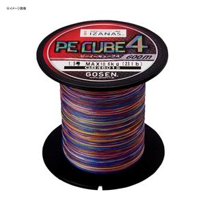 ゴーセン(GOSEN) PE CUBE4(PE キューブ4) 600m GB46015 ボビン巻き600m