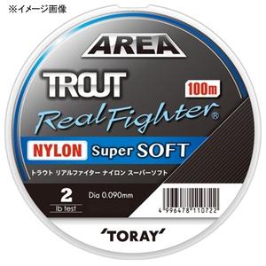 東レモノフィラメント(TORAY) トラウト リアルファイター ナイロン スーパーソフト 100m A74A トラウト用ナイロンライン