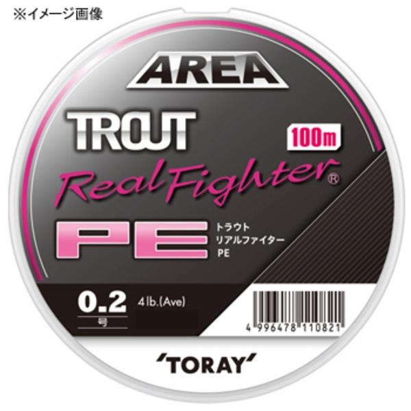 東レモノフィラメント(TORAY) トラウト リアルファイター PE 100m F72P トラウト用PEライン