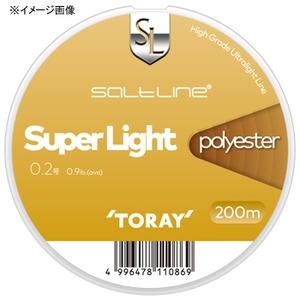 東レモノフィラメント(TORAY) ソルトライン スーパーライト ポリエステル 200m ルアー用ポリエステルライン
