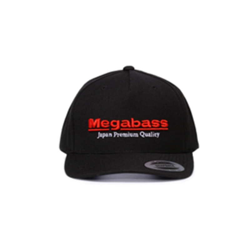 メガバス(Megabass) Megabass Trucker Hat フリー Black/Red 00000029972