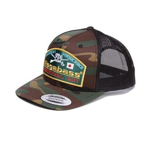 メガバス(Megabass) Megabass Trucker Hat Throwback Trucker 00000039243 帽子&紫外線対策グッズ
