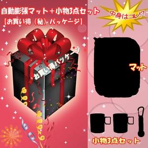 ナチュラム 自動膨張マット+小物3点セット【お買い得(秘)パッケージ】 インフレータブルマット