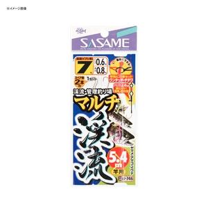 ささめ針(SASAME) マルチ渓流 5.4m竿用 7号 W-746