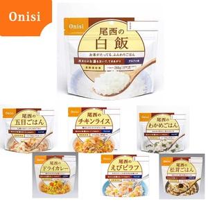 尾西食品 尾西のアルファ米シリーズ 人気の7食セット! ご飯加工品・お粥
