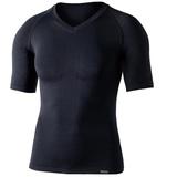 おたふく手袋(OTAFUKU) BTデュアルクロス ショートスリーブ Vネックシャツ JW-591 メンズ&男女兼用半袖アンダーシャツ