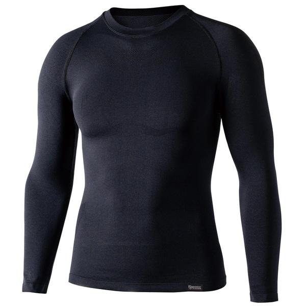 おたふく手袋(OTAFUKU) BTデュアルクロス ロングスリーブ クルーネックシャツ JW-592 メンズ&男女兼用長袖アンダーシャツ