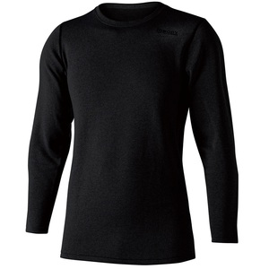 おたふく手袋(OTAFUKU) BTデュアルブラッシュド ヘビーウェイト ロングスリーブ クルーネックシャツ JW-180