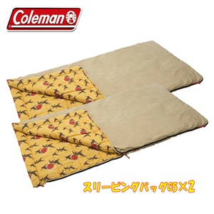 Coleman(コールマン) スリーピングバッグC5×2【お得な2点セット】 スリーシーズン用