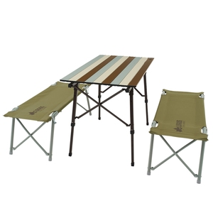ロゴス(LOGOS) LOGOS Life オートレッグベンチテーブルセット4 73188002 テーブル・チェアセット