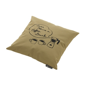 ロゴス(LOGOS) LOGOS Tシャツコラボ クッションカバー プラス COFFEE 36934719