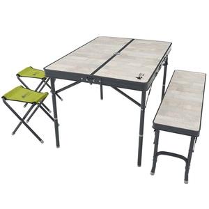 ロゴス(LOGOS) ROSY ファミリーベンチテーブルセット 73189057 テーブル・チェアセット