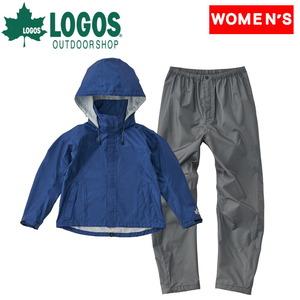 ロゴス(LOGOS) LADIE'S 2.5レイヤー レインスーツ 36718283