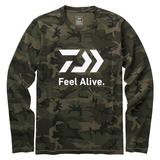 ダイワ(Daiwa) DE-82009 ロングスリーブFeel Alive Tシャツ 08331155 フィッシングシャツ