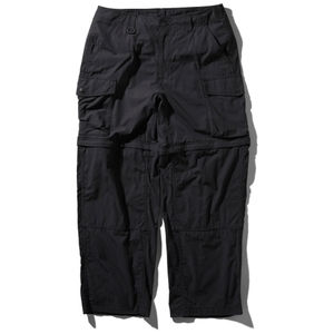 FIREFLY CONVERTIBLE PANT M K(ブラック)