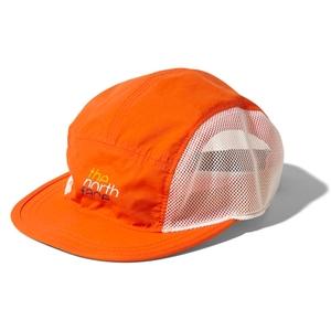 KIDS' FIVE PANEL MESH CAP(ファイブ パネル メッシュ キャプ) Kフリー PO(ペルシャオレンジ)