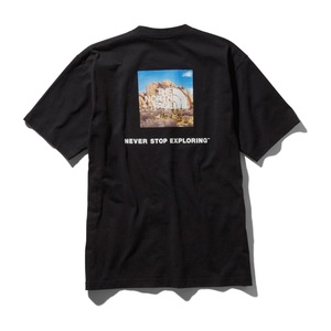 THE NORTH FACE(ザ・ノースフェイス) ショートスリーブ スクエア ロゴ ジョシュア ツリー ティー Men's NT31952 メンズ半袖Tシャツ