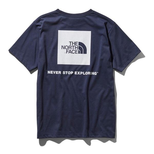 THE NORTH FACE(ザ・ノースフェイス) S/S SQUARE LOGO TEE(ショートスリーブ スクエア ロゴティー) Men's NT31957 メンズ半袖Tシャツ