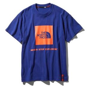 THE NORTH FACE(ザ・ノースフェイス) RAGE S/S BOX LOGO TEE(レイジ ショートスリーブ ボックス ロゴティー) NT31964 メンズ速乾性半袖Tシャツ