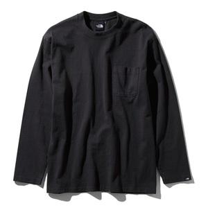 THE NORTH FACE(ザ・ノースフェイス) ロングスリーブ ガーメントダイ ヘビー コットン ティー Men's NT81831 メンズ長袖Tシャツ