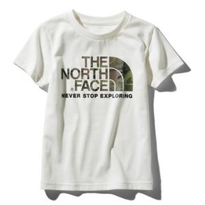 THE NORTH FACE(ザ・ノースフェイス) S/S CAMO LOGO TEE(ショートスリーブ カモ ロゴ Tシャツ) Kid's NTJ31992
